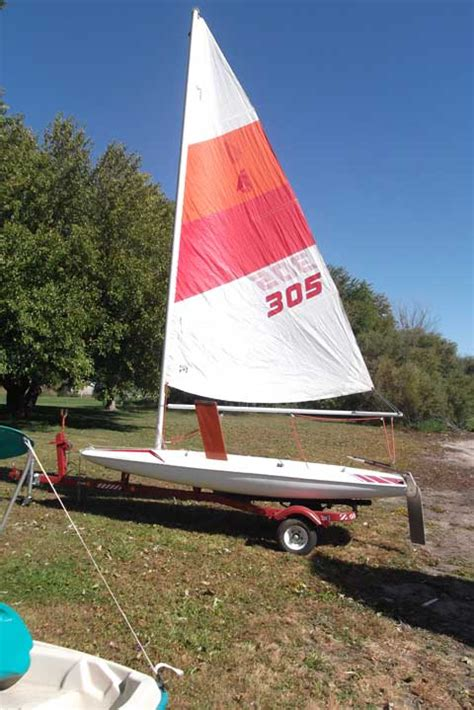 Scow Sailboat For Sale by Johnson Mini Scow 1985 Erie Illinois Sailboat For Sale