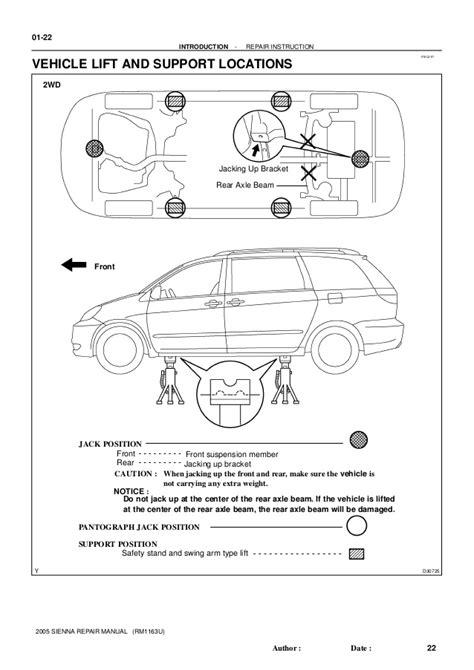 Toyota Sienna Service Repair Manual