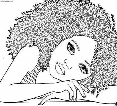 Coloring Pages African Printable American Barbie Pdf
