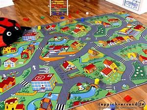 Teppich Für Kinder : kinder spiel teppich little village gr n in 24 gr en ~ A.2002-acura-tl-radio.info Haus und Dekorationen