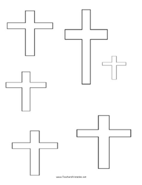 cross template printable cross templates