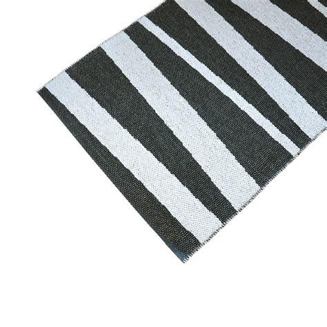 tapis de couloir are sofie sjostrom design 233 noir et blanc 70x300