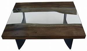 coffee tables mortise tenon With industrial glass top coffee table