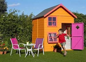 Maison Enfant Jardin : maisonnette de jardin pour enfant la maisonnette lisa pour enfant a tout du0027une grande elle ~ Preciouscoupons.com Idées de Décoration