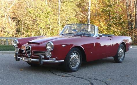 Alfa Romeo 2600 Spider For Sale by Seller 1966 Alfa Romeo 2600 Spider Bring A