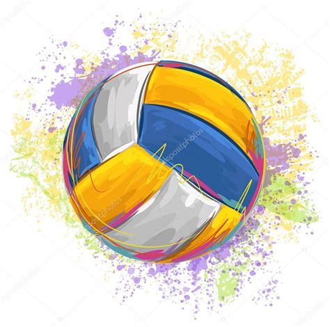 volleyball ball stock vector  vedvidarts