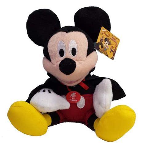 disney plush talking vampire mickey mouse