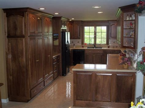 modern black walnut kitchen cabinets black kitchen