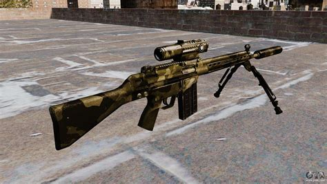 hk  automatic rifle  gta