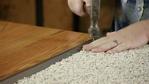 Video how to install the transition strips for wood for How to replace hardwood floor strips