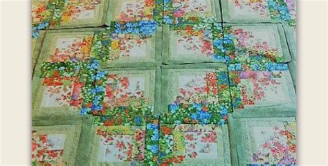 This Log Cabin Quilt Has A Fresh New Look
