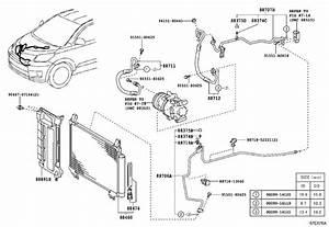 2008 Scion Xd Hose  Cooler Refrigerant Discharge  No  1