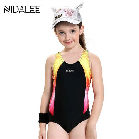 Girls Swimwear Kids One Piece Swimsuit Summer Brand Baby