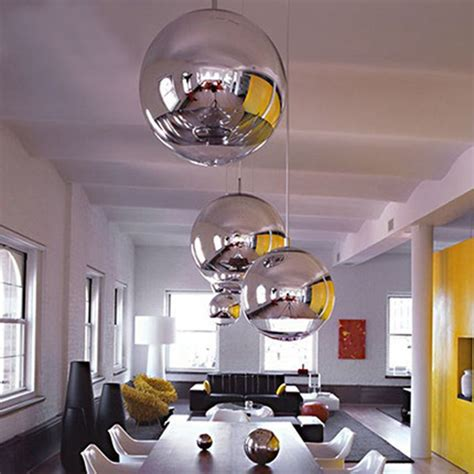Silver Spheres in a White Kitchen - Interiors By Color
