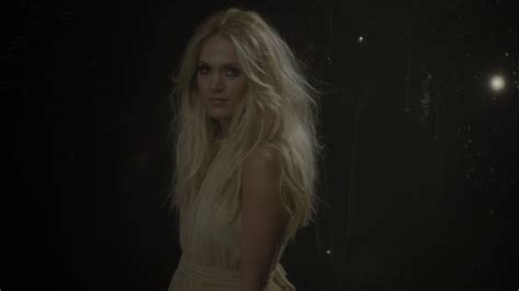 Watch Carrie Underwood's Enchanted 'heartbeat' Video