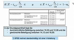 Mittelwert Berechnen Spss : beispiele und aufgaben im modul konfidenzintervalle f r ~ Themetempest.com Abrechnung
