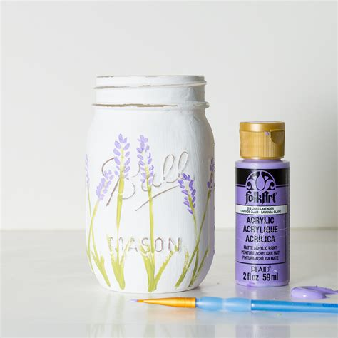 how to use jars lavender flower painted mason jars it all started with paint
