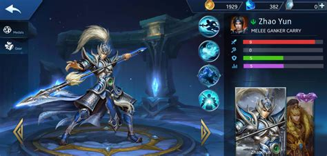 heroes evolved yun zhao