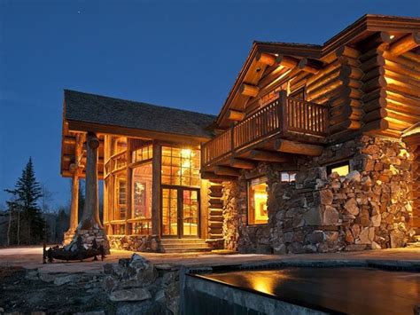Luxury Log Cabin Home Biggest Luxury Log Home, Luxury