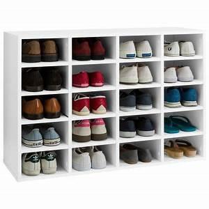 Etagère Et Casier à Chaussures : meuble casier chaussures id es de d coration int rieure ~ Dallasstarsshop.com Idées de Décoration
