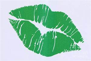 Mint Green Kiss Photograph by Nina Prommer