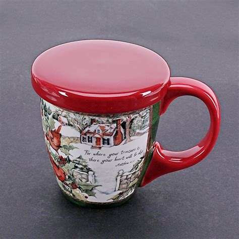 Hand painting America Pastoral Style Ceramic Tea Coffee Mug Milk Cups Porcelain With Lid Filter