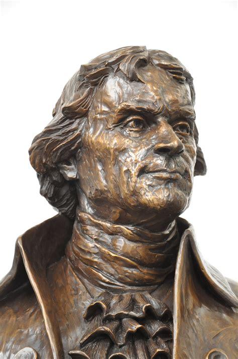 Art professor creates Thomas Jefferson sculpture ...