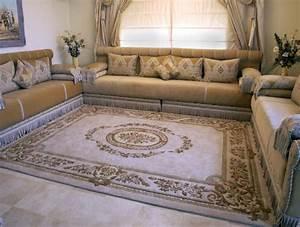 tapis marocain moderne 2015 salon marocain deco With tapis moderne avec canape en ligne discount