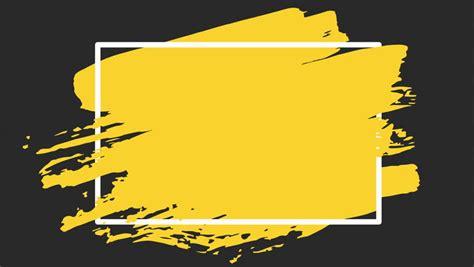 วิดีโอสต็อกของ Yellow Brush Stroke Transition Background