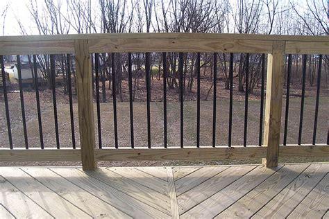 deck railings ideas deck railings pictures custom deck railing spindles and balusters deck contractors allentown