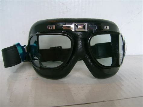 New Red Baron Type Motorcycle Racing Goggles British