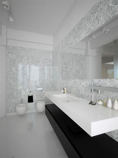 black white contemporary bathroom design interior design
