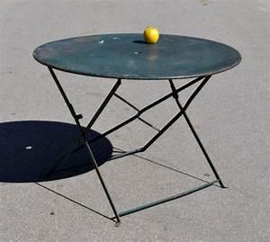 Petite Table Ronde De Jardin : table de jardin vintage ~ Dailycaller-alerts.com Idées de Décoration