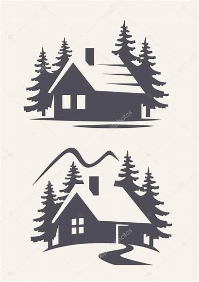 Cabin Stencils Wood Stencil Weihnachten Svg Cabina