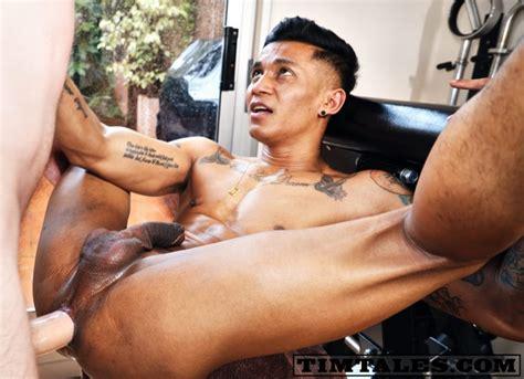 Indonesian Gay Porn Star Fabio Toba Takes Tim's Huge Cock