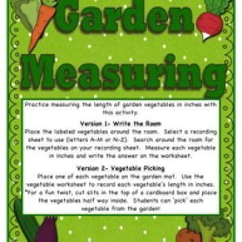 garden measuring activity  images measurement