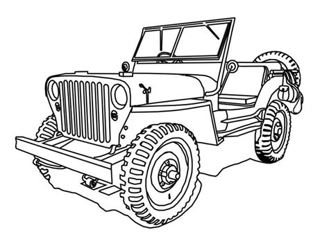 safari jeep coloring page safari jeep coloring page page 1 safari jeep coloring page