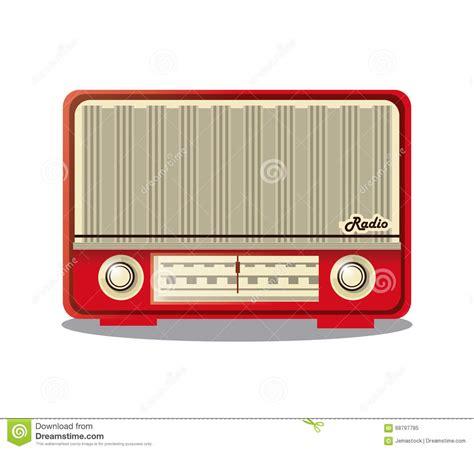 radio retro design retro radio design vector illustration stock vector image 68797785