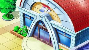 pokemon center anime images