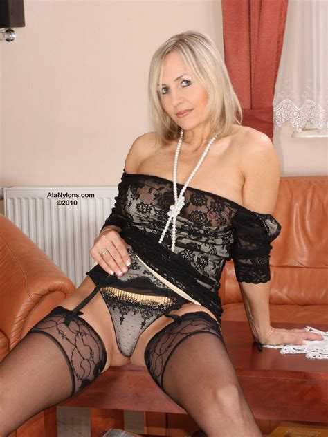 Ala Nylon From Poland Sexy Polish Milf Blonde Porn