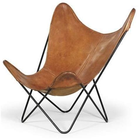 leather butterfly chair the butterfly chair designed in