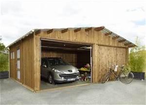 Garage Bois 40m2 : garages preaux abri garage en ~ Melissatoandfro.com Idées de Décoration