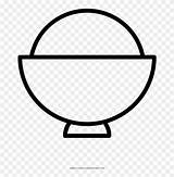 Rice Coloring Bowl Icon Pinpng sketch template
