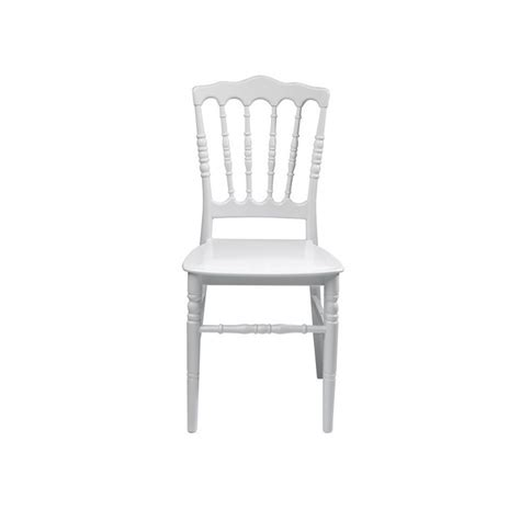 chaise napoleon blanche chaise napoléon blanche starlight evénements