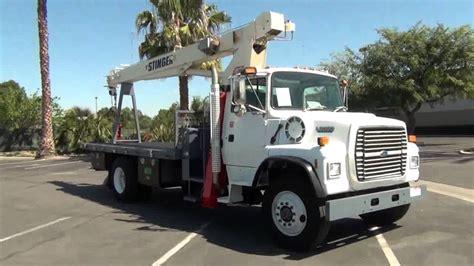 ford  simon   tc   ton crane truck