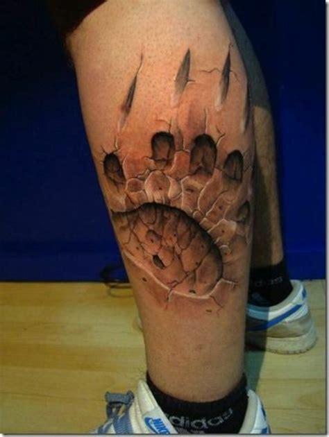 3d bein coole tattoos 3d inspirierende motive und designs
