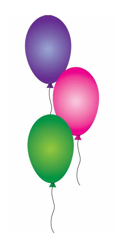 Balloons Birthday Celebrate Vector Pixabay Celebration Party