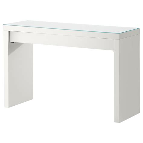 bureau maquilleuse malm dressing table white 120x41 cm ikea