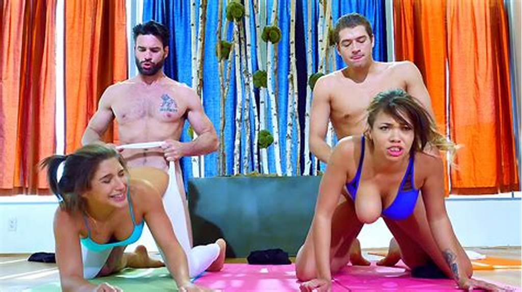 #Yoga #Foursome #With #Abella #Danger #And #Cassidy #Banks
