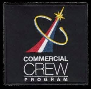 NASA Commercial Crew Program Embroidered Patch 4 x 4